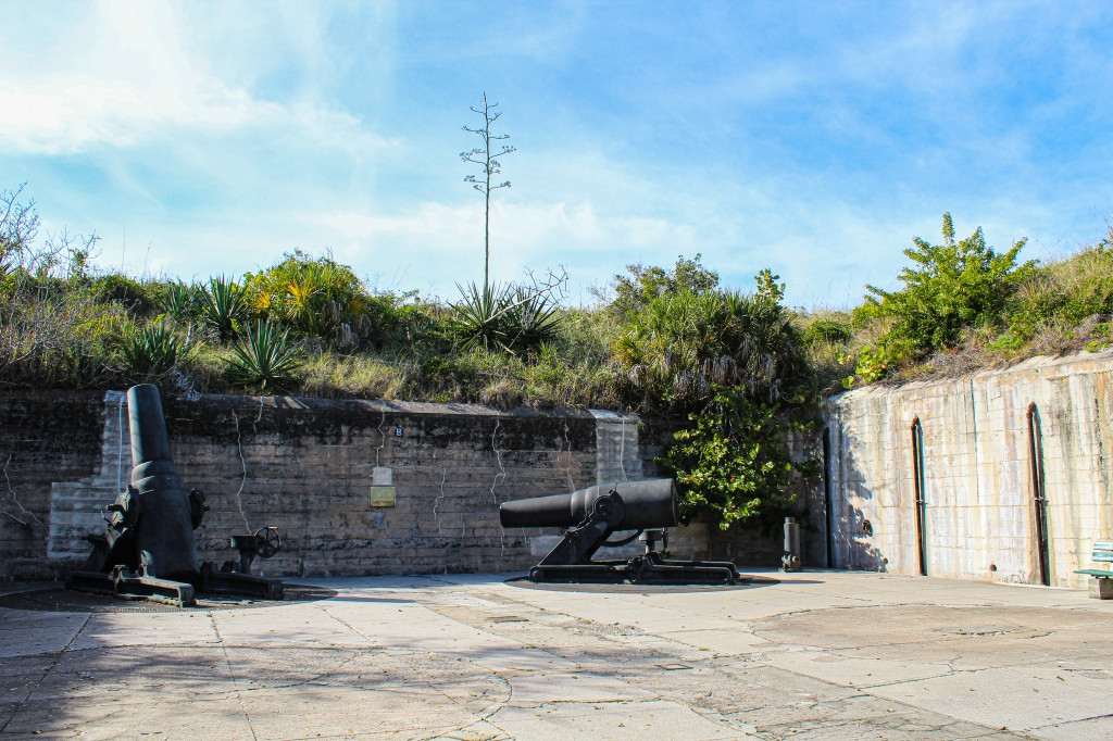 fort de soto's 12-inch mortar battery