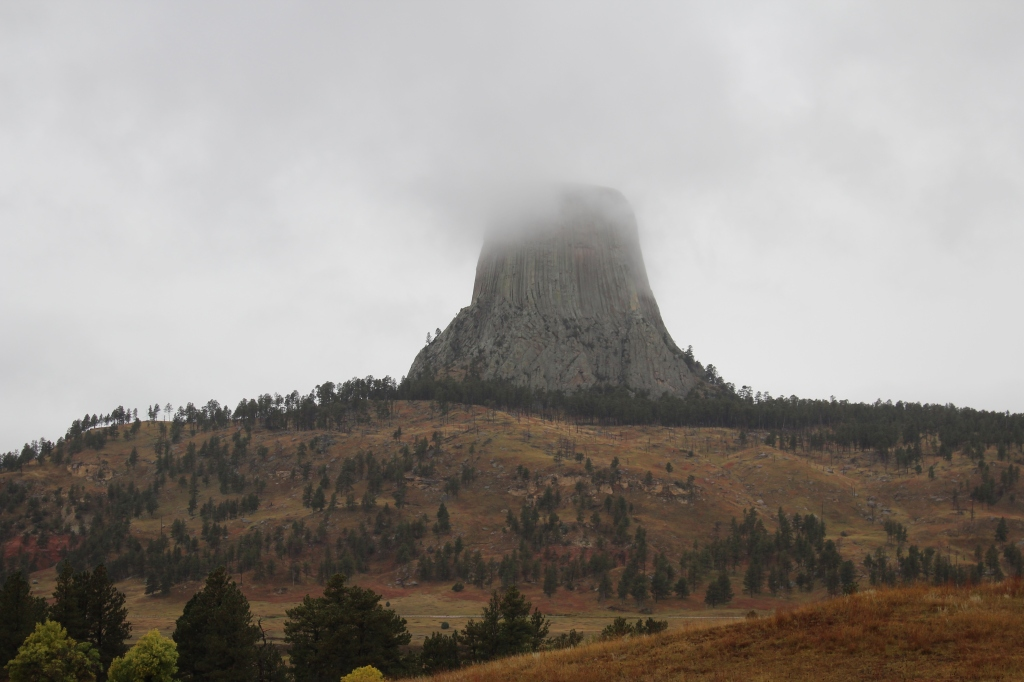Devil's Tower in Crook County, Wyoming